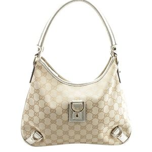 Gucci 130738 Abbey D Ring Hobo (143425)